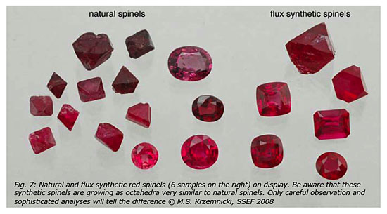 Spinel In All Colors From Thailand In Good Quality