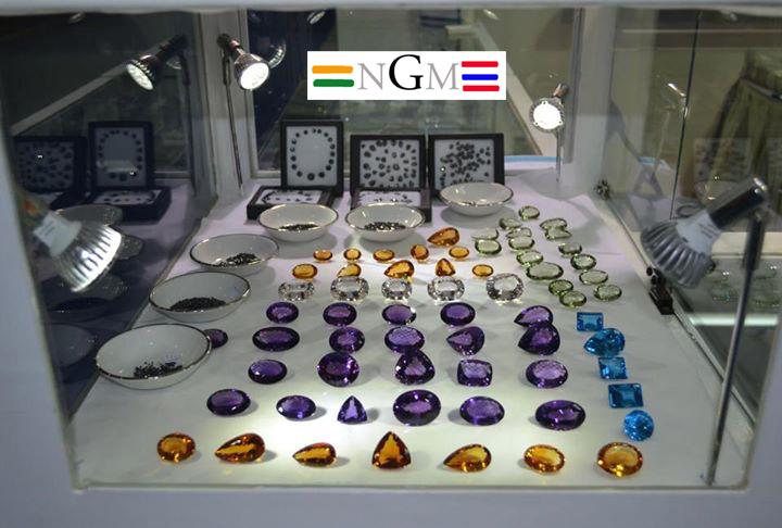 Gemstones exhibition