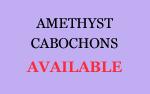Amethyst Cabochons
