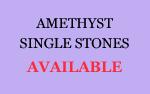 Amethyst Single Stones