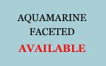 Aquamarine Faceted