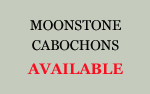 Moonstone Cabochons