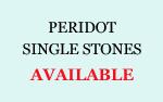 Peridot Single Stones