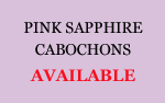 Pink Sapphire Cabochons