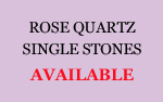 Rose Quartz Single Stones