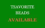 Tsavorite Beads