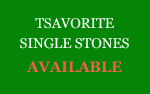 Tsavorite Single Stones