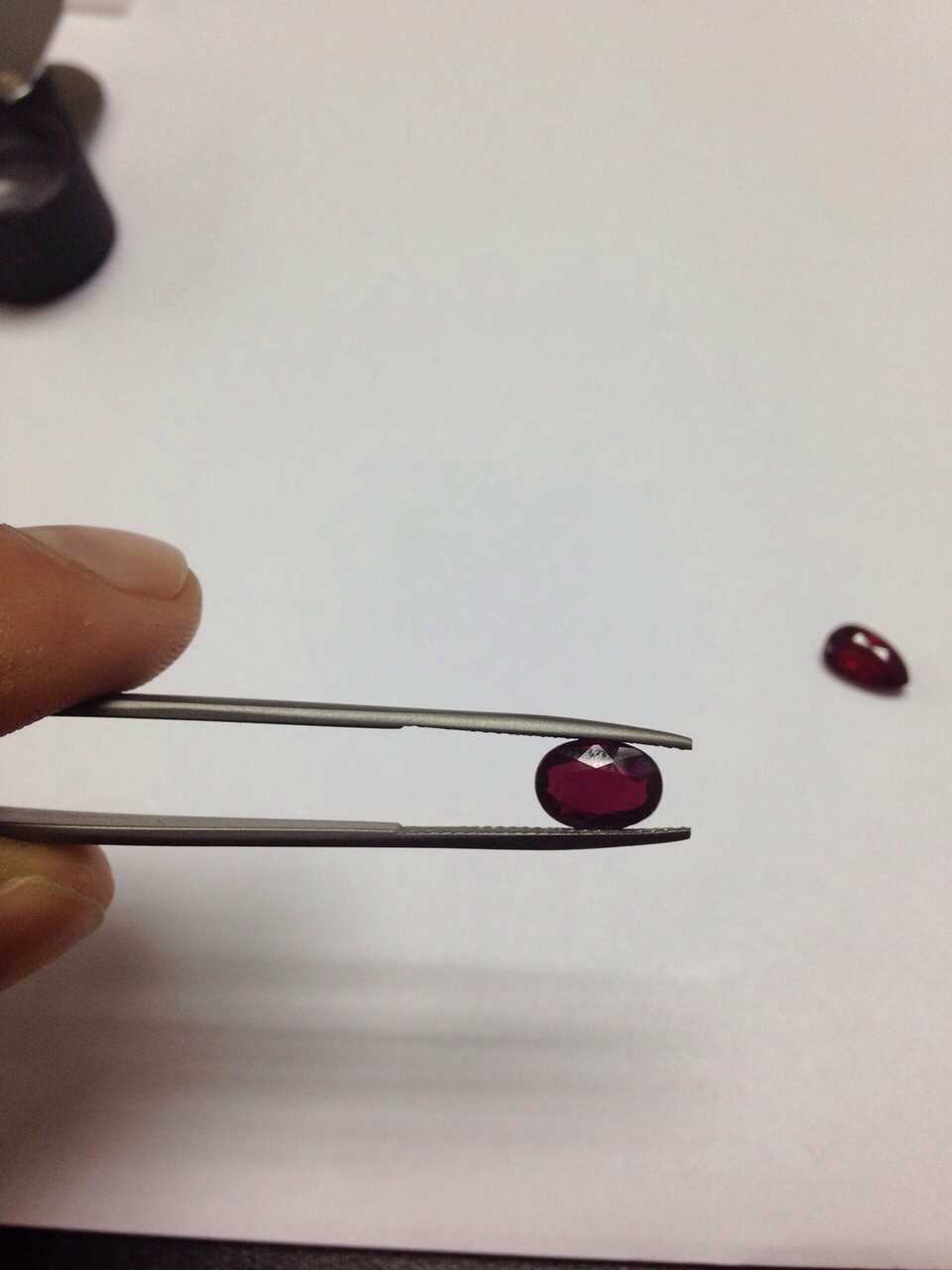 ruby oval